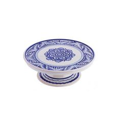 NOVICA 10 Inch Majolica Floral Ceramic Cake Stand from Mexico (785 CNY) ❤ liked on Polyvore featuring home, kitchen & dining, serveware, homedecor, serving plates, tableware & entertaining, white, ceramic tableware, white cake pedestal and white ceramic cake stand