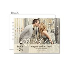 They have cheap save the dates and invites! I love this site -- this is the site we should use.
