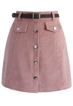 Edgy Appeal Bud Skirt in Pink - New Arrivals - Retro, Indie and Unique Fashion