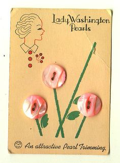 Lady Washington Pearls by Casa de Dogpoop, via Flickr