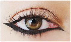 srta limón: Delinear tu ojo al revés de como lo has hecho hasta ahora