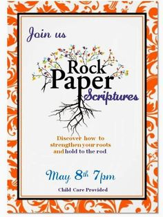 Sisters of the Temple 2nd Ward Relief Society: Rock, Paper Scriptures-- May RS Meeting