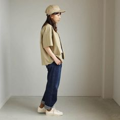 SELVEDGE WEATHER CLOTH OPEN COLLARED H/S SHIRTS