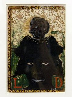 Kerry James Marshall | Woman with Death on Her Mind | The Met