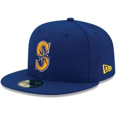 df8cad300d3 Seattle Mariners New Era Youth Authentic Collection On-Field Alternate 2 59FIFTY  Fitted Hat - Royal