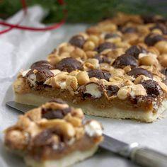 Rocky Road-rutor Crockpot Recipes, Cooking Recipes, Healthy Recipes, Rocky Road Recept, Norwegian Food, Norwegian Recipes, Hot Cocoa Recipe, Candy Cookies, Brownie Bar