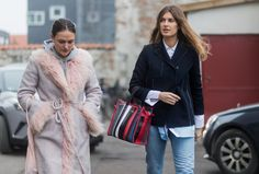 The candy-stripe-lined totes are on the arms of women everywhere, in the oversize shape or the one that sit...