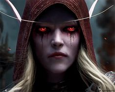 The seventh expansion World of Warcraft Battle for Azeroth was announced at BlizzCon November 2017 , alongside a new cinematic trailer. Lady Sylvanas, World Of Warcraft Wallpaper, Jaina Proudmoore, Sylvanas Windrunner, For The Horde, Cinematic Trailer, Video Game Music, Music Videos, Game Art