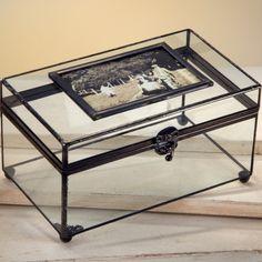 J. Devlin Glass Photo Display Case | Picture Frame Box