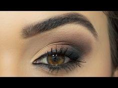 Olho esfumado diagonal