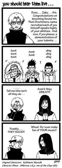 Awe man, it seems like Orochimaru died so long ago...and this comic made me really happy.
