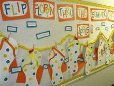 Summer is coming! With that, it means you can make several arts to do at home. Thus, we give you 48 stunning summer bulletin board decoration ideas to give you inspiration this summer. Hopefully, you can make your ideal bulletin board with these ideas. Daycare Bulletin Boards, Bible Bulletin Boards, Christian Bulletin Boards, Summer Bulletin Boards, Classroom Board, Classroom Bulletin Boards, Classroom Ideas, Classroom Crafts, Board Decoration