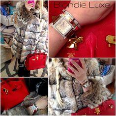 and a perfect night ❤ #whatiwore #ootd #mirrorpic #moonboots #lynx #furcoat #dennisbasso #hermes #birkin #hermesbirkin #closet #outfit #red #hairstagram #blonde #braid #sidebraid #birkinbag #gold #cartier #diamonds #fabulous #diamond #armparty #wristcandy #eyecandy #luxury #glamour  #fashionista #lifestyle