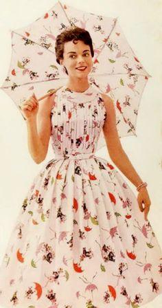 1956 vintage dress