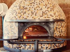 Pizza Made in Traditional Italian Oven