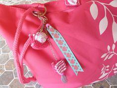 Porte clefs escargot amigurumi bonbon amigurumi rose fait