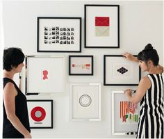 No. 3 The Big Picture How To Hang Your Gallery Wall Let our talented team of stylists share a few tips on getting started.