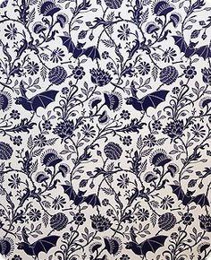 Bat and Venus Flytrap wallpaper by trustworth studios