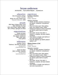 Resume Template  Pages  Cv Template  Cover Letter For Ms Word