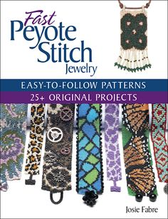 A new twist on peyote stitch! $21.99