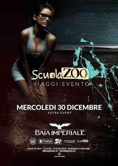 La Baia Imperiale apre i propri cancelli un giorno prima e ti aspetta mercoledì 30 dicembre 2015 per una grande festa in collaborazione con Scuola Zoo.