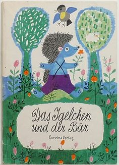 The Hedgehog and the Bear by Károly Reich (1922~1988)