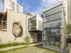 Completed in 2016 in Fazenda, Brazil. Images by Alexandre Zelinski. The project Container, located in the port city of Itajaí (SC) aims to intervene on a conceptual model, interact with sustainability issues, propose...