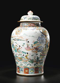 vase ||| sotheby's pf1217lot6nzwpen Porcelain Ceramics, Ceramic Vase, China Porcelain, Chinese Figurines, Vases, Japanese Porcelain, Chinese Ceramics, Ginger Jars, Chinese Antiques
