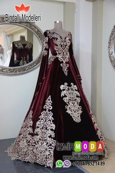 Bindallı modelleri online satış You will find different rumors about the history of the marriage dress; Dresses Elegant, Beautiful Dresses, Nice Dresses, Turkish Wedding Dress, Marriage Dress, Holiday Party Dresses, Medieval Dress, Dress Patterns, Night Gown