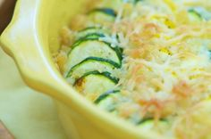 Squash Casserole – this makes a perfect side dish for a pot luck, or any night of the week.