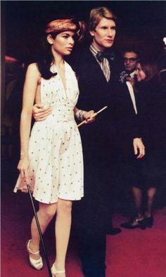 Circa 1972 - Yves Saint Laurent & Bianca Jagger