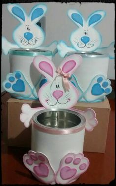 Diy Crafts - Foursquare © 2020 Lovingly made in NYC, SF & Chicago Bunny Crafts, Easter Crafts For Kids, Decor Crafts, Diy And Crafts, Paper Crafts, Easter Art, Easter Bunny, Diy Y Manualidades, Easter Projects