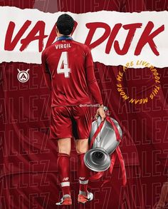 Football Art, World Football, Virgil Van Dijk, Camp Nou, Liverpool Fc, Caricature, Supreme, Soccer, Illustration