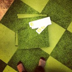 Walk, roll, or play on our green without those pesky grass stains! (Via @edmondmacri)