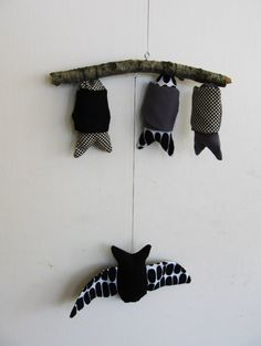 Bat Mobile - Jen Hewett - Etsy.....R would LOVE something like this :)