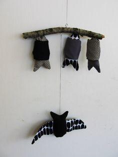 Bat Mobile - Jen Hewett - Etsy.....R would LOVE something like this :)