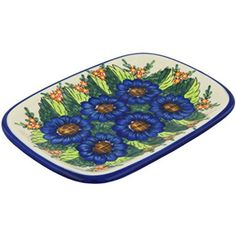 Ceramika Bona H8080G Polish Pottery Ceramic Platter Hand Painted 11Inch -- You can find more details by visiting the image link. (This is an affiliate link) #BakeandServeSets