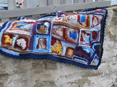 Ravelry: anastaciaknits' crazy quilt