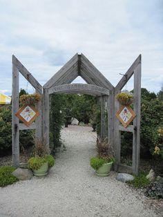 Garden Door complex, Door County.  On the must-see list for our next trip.