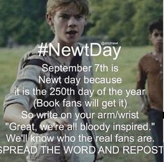 Newt Day - September 7th