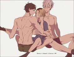 5 Anime, Anime Couples Manga, Anime Guys, Kenma Kozume, Kuroken, Bokuaka, Haikyuu Manga, Haikyuu Fanart, Volleyball Anime