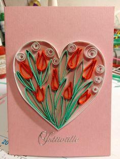 Quilling Cards, Enamel, Heart, Vitreous Enamel, Enamels, Tooth Enamel, Glaze
