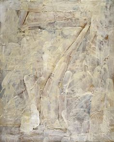 Jasper Johns, 'Figure encaustic and collage, 1955 Tachisme, Franz Kline, Willem De Kooning, Robert Rauschenberg, Jackson Pollock, Joan Mitchell, Abstract Expressionism, Abstract Art, Abstract Paintings