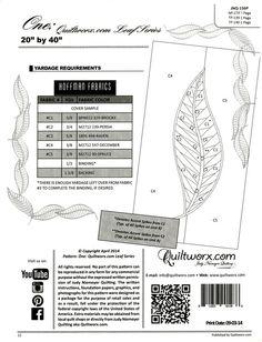 Judy Niemeyer Tea Time Leaf Placemats ~ Paper Piecing