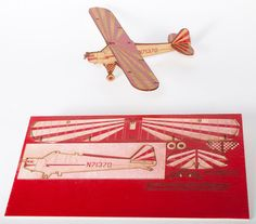 Laser Cut Snap Together Model of Your Aircraft | eBay