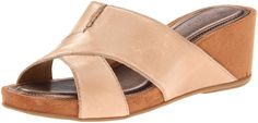 Naturalizer Pengo Open Toe Leather Wedge Sandal -- Additional details at the pin image, click it  - Naturalizer sandals