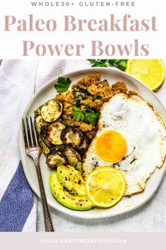Whole30, Gluten-Free, Easy Paleo Breakfast Power Bowls