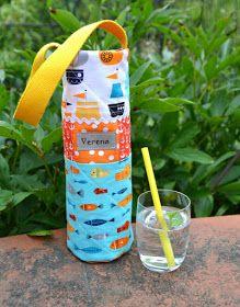 einfachbuntquilts bottle bag