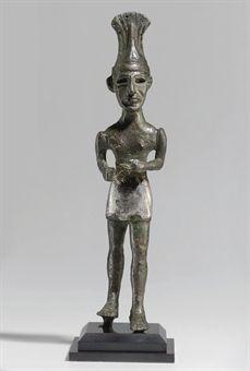 A Canaanite warrior, Middle Bronze Age IIA, circa 1900-1700 B.C