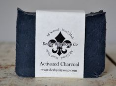 Activated Charcoal Soap  Cold Process Soap All by DerbyCitySoapCo, $5.00 Activated Charcoal Soap, Soap Packaging, Cold Process Soap, Unique Jewelry, Handmade Gifts, Etsy, Craft Gifts, Hand Made Gifts, Homemade Gifts